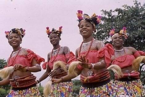Ibibio women tribe dance